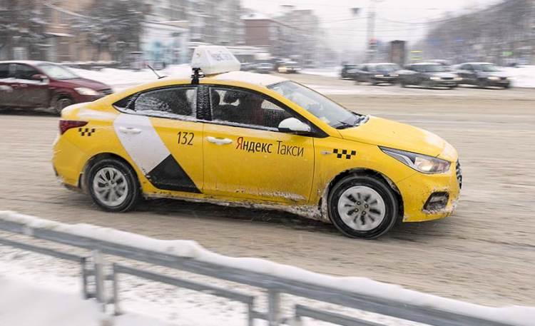 Яндекс такси Екатеринбург